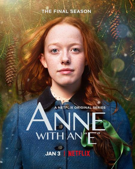 Anne with an e netflix poster